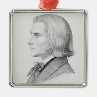 Franz Liszt som inristas av Gonzenbach Julgransprydnad Metall