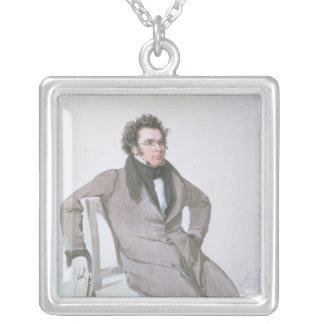 Franz Schubert, 1825 Silverpläterat Halsband