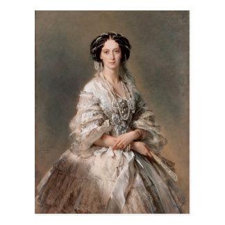 Franz Winterhalter- porträtt av empressen Maria Vykort