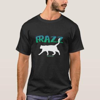 FRAZZ! Svart kattklubbT-tröja T-shirt