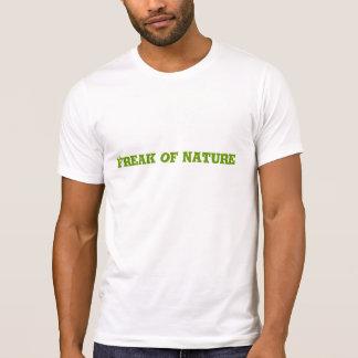 Freak av naturen tee shirt