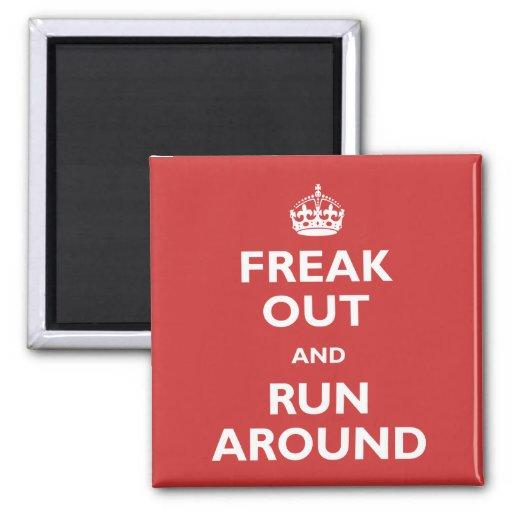 Freak ut & springa omkring magneter