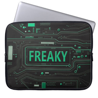 Freaky teknologi laptop fodral