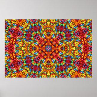 Freaky Tiki Kaleidoscope   affisch