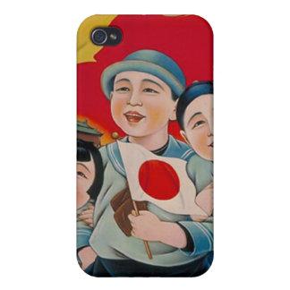 Fred är med Japan iPhone 4 Skal