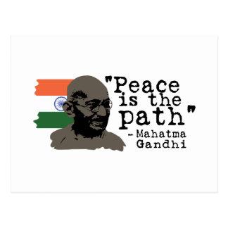 Fred är vägen vykort