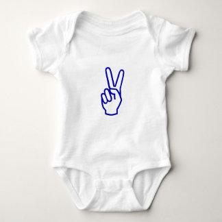 Fred eller V för seger T-shirt