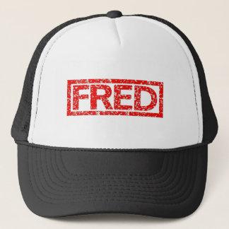 Fred frimärke truckerkeps
