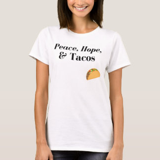 Fred, hopp & Tacosskjorta Tee Shirts
