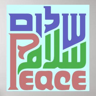 Fred i 3 språk poster