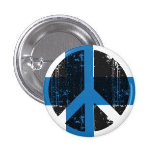 Fred i Finland Mini Knapp Rund 3.2 Cm