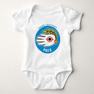 Fred i fransk bebist-skjorta bodysuit tee shirt