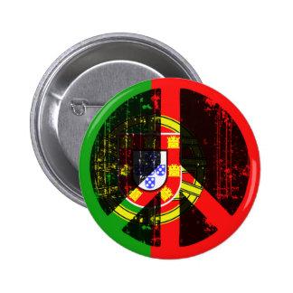 Fred i Portugal Standard Knapp Rund 5.7 Cm