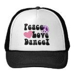 Fred kärlek, dans keps
