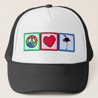 Fred kärlek, Flamingos Truckerkeps