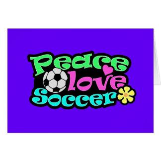 Fred kärlek, fotboll; Retro Hälsningskort