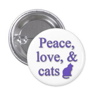 Fred kärlek katter knapp