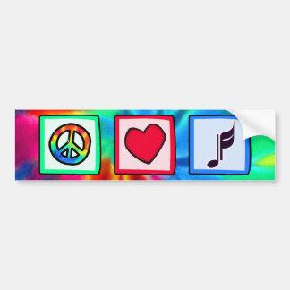 Fred kärlek, musik bildekal