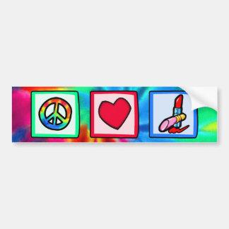 Fred kärlek, skönhetsmedel bildekal
