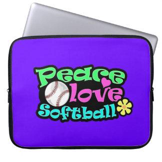Fred kärlek, softball laptop fodral
