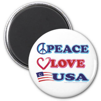 Fred-Kärlek-USA Magnet