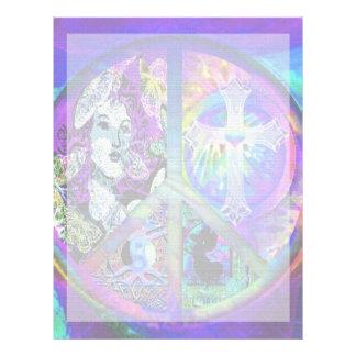 Fred och harmoni brevhuvud