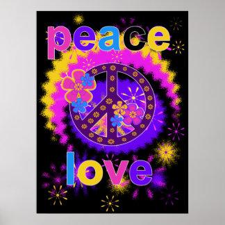 Fred- och kärlekaffisch