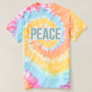 FRED - spiral Tie-Färg T-tröja Tee Shirt