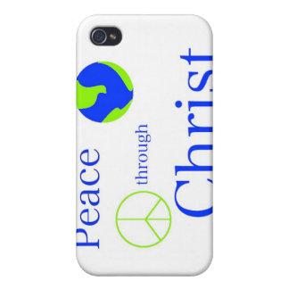 Fred till och med Kristusiphone case iPhone 4 Hud