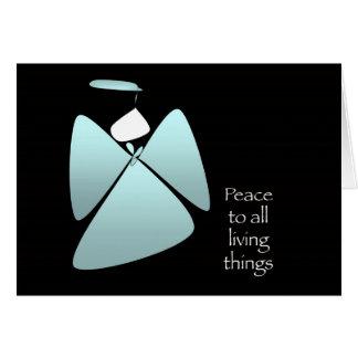 Fredängel Hälsningskort