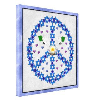 Freddavidsstjärna Canvastryck