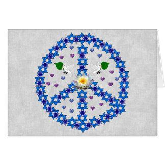 Freddavidsstjärna Hälsningskort
