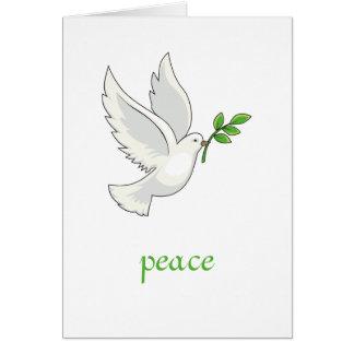Fredduvakort Hälsningskort