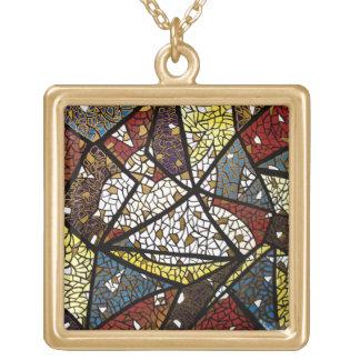 Fredduvasymbol av religiösan för helig ande guldpläterat halsband