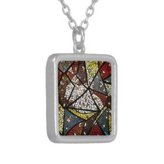 Fredduvasymbol av religiösan för helig ande silverpläterat halsband