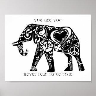 Fredelefant Poster