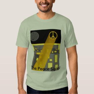 Freden signalerar tee shirt