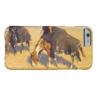 Frederic Remington - indier som simulerar buffeln Barely There iPhone 6 Fodral