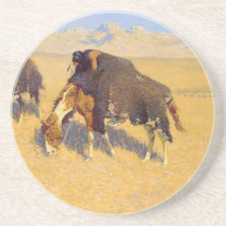 Frederic Remington konst Underlägg Sandsten