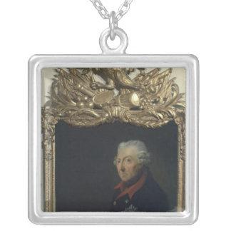 Frederick II av Prussia Silverpläterat Halsband