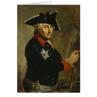 Frederick II underbaren av Prussia, 1764 Hälsningskort
