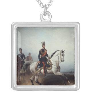 Frederick III Wilhelm på det Bornstedter fält Silverpläterat Halsband