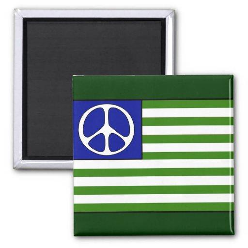 Fredflagga Magneter