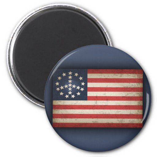 Fredflagga - xdist kylskåpsnagnet