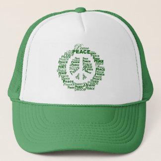 Fredhatt - grönt truckerkeps
