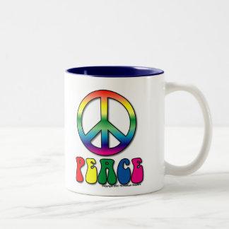Fredkaffemugg Två-Tonad Mugg