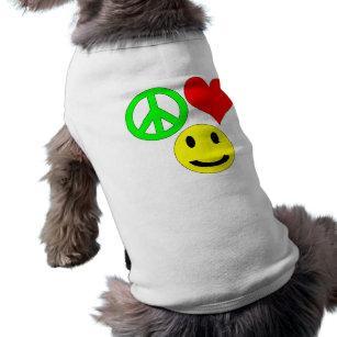 fredkärlek och älsklings- bekläda för lycka husdjurströja