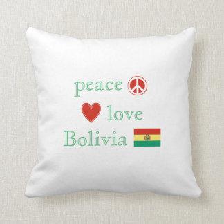 Fredkärlek och Bolivia Kudde