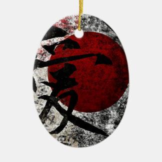 Fredkärlek och hopp #3 julgransprydnad keramik