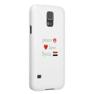 Fredkärlek Syrien Galaxy S5 Fodral